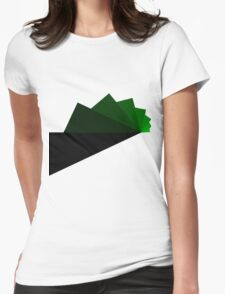 Trig - Green Womens Fitted T-Shirt