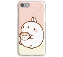 kawaii molang TEA iPhone Case/Skin