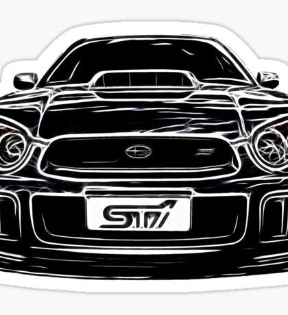 Subaru WRX Impreza Sticker