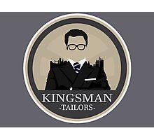 Kingsman Tailor Logo Photographic Print