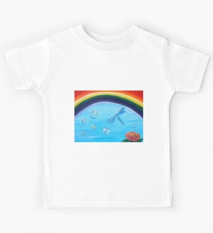 To brighten a cloudy day. Kids Tee
