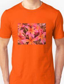 Red Frangipani #2  T-Shirt