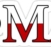 Phi Mu Alpha - Texas Flag Sticker