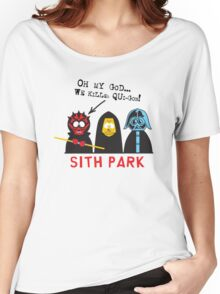 Sith Park Women's Relaxed Fit T-Shirt