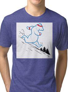 Da Bears - Running Tri-blend T-Shirt