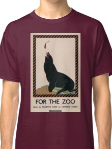 Vintage poster - London Zoo Classic T-Shirt
