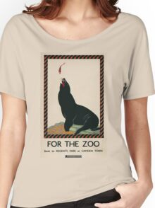 Vintage poster - London Zoo Women's Relaxed Fit T-Shirt