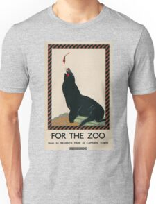 Vintage poster - London Zoo Unisex T-Shirt