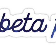 Pi Beta Phi Galaxy Sticker