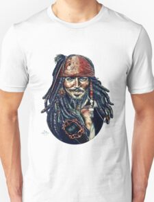 Cap'n Jack Sparrow by Indigo East T-Shirt