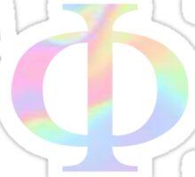 Gamma Phi Beta - Pastel Sticker