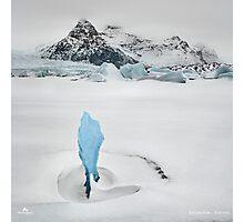Iceberg Lagoon Photographic Print