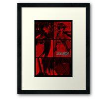 Red Himura Framed Print