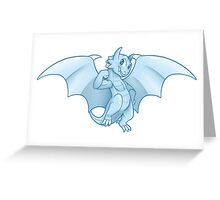Toon Dragon Greeting Card