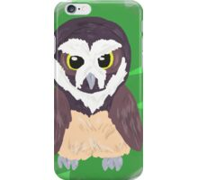 Cuddly Spectacled Owl iPhone Case/Skin
