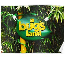 A BUGS LAND Poster