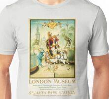 Vintage poster - London Museum Unisex T-Shirt