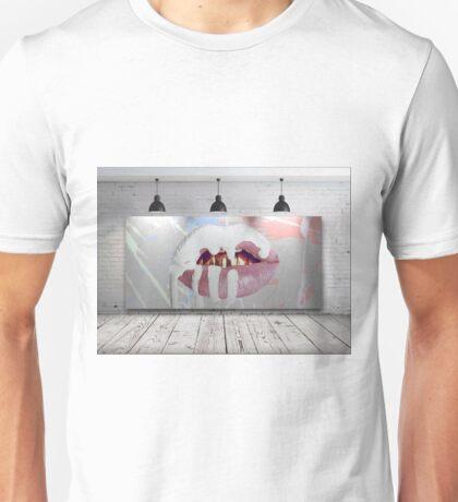 Kylie Jenner Lips Canvas Unisex T-Shirt