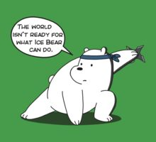 The world isn't ready for what Ice Bear can do - We Bare Bears - Cartoon Network Baby Tee