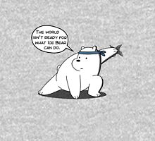 The world isn't ready for what Ice Bear can do - We Bare Bears - Cartoon Network Women's Fitted Scoop T-Shirt