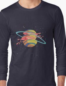 Space Fruit Long Sleeve T-Shirt