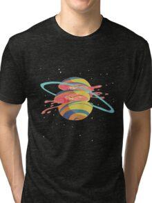 Space Fruit Tri-blend T-Shirt