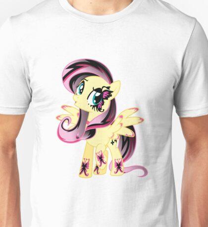 Goth Fluttershy Unisex T-Shirt