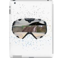 Crazy Rider google view iPad Case/Skin