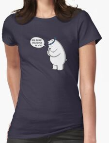 Ice Bear Believes In You - We Bare Bears - Cartoon Network T-Shirt