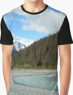 River in Alaska Graphic T-Shirt