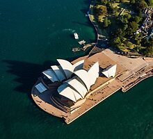 Shadows of the Sydney Opera House by Ana Andres-Arroyo