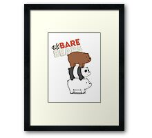 We Bare Bears - Cartoon Network Framed Print