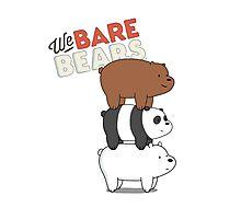 We Bare Bears - Cartoon Network Photographic Print