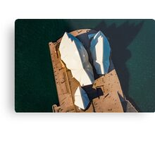 Sydney Opera House from Above Metal Print