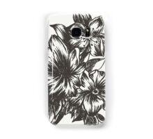 Floral in Ink Samsung Galaxy Case/Skin