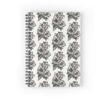 Floral in Ink Spiral Notebook