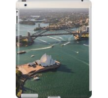 Sydney Harbour from the Sky iPad Case/Skin