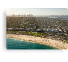 Aerial Bondi Beach Metal Print