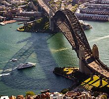 Shadows of the Sydney Harbour Bridge by Ana Andres-Arroyo