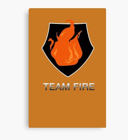 Team Fire Canvas Print