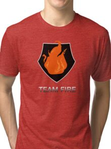 Team Fire Tri-blend T-Shirt
