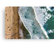 Aerial Maroubra Beach Metal Print