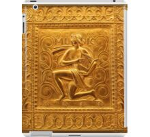 Embossed Brass Music Panel - Fisher Building iPad Case/Skin