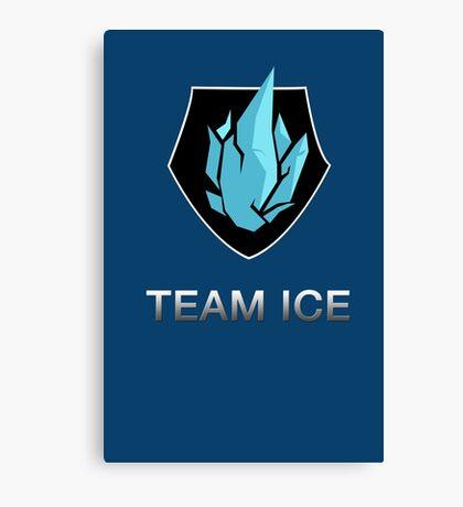 Team Ice Canvas Print
