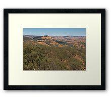 Murchison's Gap, Victoria, Australia Framed Print