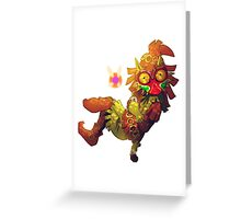 Skull kid Majora  Greeting Card