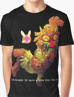Skull kid Majora  Graphic T-Shirt