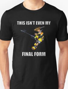 Kingdom Hearts: This Isn't Even My Final Form! T-Shirt