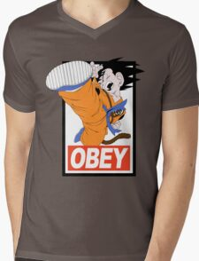 Kid Goku Mens V-Neck T-Shirt