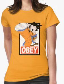 Kid Goku Womens Fitted T-Shirt